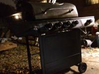 I have a backyard grill BBQ pit 4 burner stainless