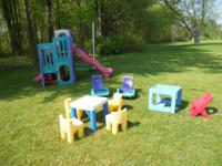 For sale --- the total backyard playground set !!!