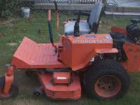 I am selling a bad boy mower 60 in 27 hp kohler command