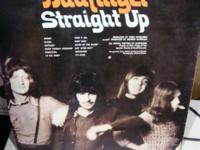 BADFINGER STRAIGHT UP....GERMAN IMPORT....APPLE
