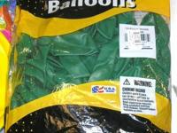 We have several bags of yellow, green and blue 11""