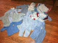 I'm getting rid of all of my baby boy stuff.. Size