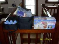 for sale is a bailey breast pump. It includes all brand