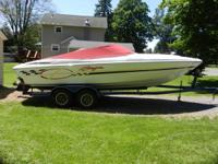 I am selling my 2000 Baja  Boss 232.  It is 23' long,