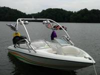 Baja ski boat in great shape equipped with mercury