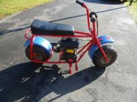 Baja Motorcycle 97cc Gas-Powered Mini Bike For Kids in
