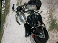 This almost new mini bike asking 550. 00 CASH ONLY NO