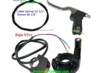 Baja Doodle Bug 97cc 2.8HP Throttle and Kill switch set