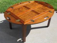 Baker Furniture Butler S Folding Tray Drop Side Coffee Table For In Utica Michigan Clified Americanlisted