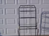 "Bakers rack 64"" tall, 33"" wide, 21"" deep. Call  //"