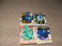 There are 11 bakugan and the metal cards. Great deal