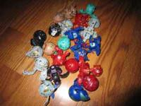 My daughter is selling her bakugan collection. All are