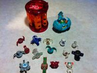 Bakugon lot includes 15 regular sized Bakugon, 1 giant