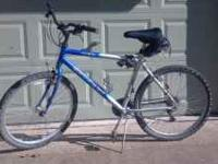 Balance AL250 mountain bike. Aluminum frame, 21 speed,