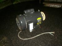 Baldor Single Phase Industrial Motor 2 HP 115/230 Volt