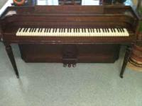 I have a great working Baldwin Acrosonic Piano in great