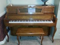 I have a well cared for Baldwin Acrosonic piano for
