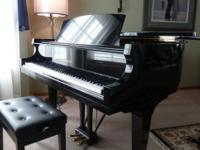 2002 Baldwin R1 Artist Grand Piano- Ebony Gloss