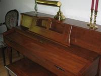 Baldwin console piano for sale -- serial # 1210207,