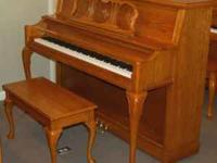 "Baldwin Console-style piano, 45"" tall (this is really a"