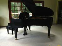 I am selling my piano.  I purchased it new at Graves