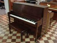 This is an American made Baldwin Hamilton Studio Piano