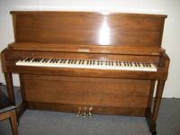 Nice sturdy Baldwin Hamilton studio piano and bench in