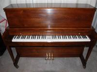BALDWIN HAMILTON STUDIO UPRIGHT This Baldwin Hamilton,