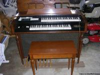 This is a Baldwin Orga-sonic Organ Model 74A1. The