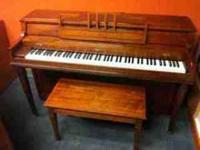 This piano is in great condition, and is hardly used.