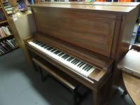 BALDWIN PIANO at BULLDOG FAMILY CONSIGNMENT/BULLDOG