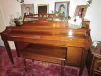 I have for sale a Baldwin Piano in excellent condition,