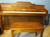 For sale a stunning working Baldwin piano. My little