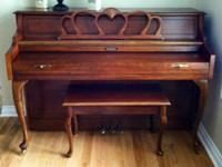 25-year-old Lightly used Baldwin console piano.