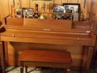 Baldwin piano for sale - comes with piano bench and is