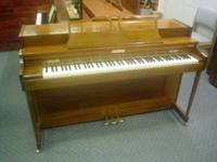 Selling on behalf of a client.  Baldwin spinet piano