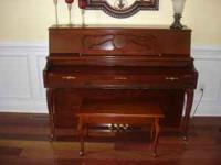 IN GREAT SHAPE, 7 YEARS OLD BALDWIN UPRIGHT PIANO.