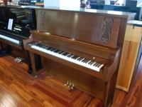 This Baldwin Upright piano has a very simple, yet