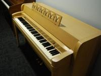 This blonde Baldwin Acrosonic Spinet Piano is in