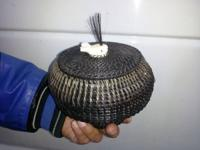 super rare extra large Baleen basket!! made by local