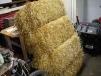 4 bales of hay, $20.00 OBO. Nothing wrong with them,