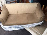 Unique, well-cared-for, newly-upholstered couch in