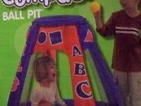 HEDSTROM BALL PIT (ABC and 123) with balls --- ASKING