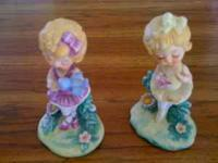 "Ballerina Doll Figurines -- 5"" high Excellent"