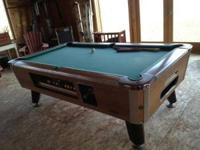 Coin Operated Pool Table Classifieds Buy Sell Coin Operated Pool - 3 1 2 x 7 pool table