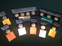 Collection of a variety of coins, 1994 Commemorative