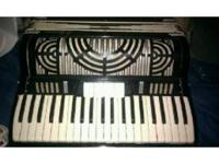 ACCORDION MAY NEED A LITTLE WORK. SOUNDS GOOD. SOLD AS