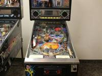 Up for sale 1992 Bally Adamms Family Pinball machine.