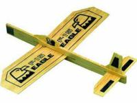 Balsa Eagle Airplane Glider Guillows brand new   i have