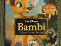 Bambi 2-disc Special Edition, Platinum Edition, retired